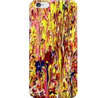 Abstract Jackson Pollock Painting Titled: Stimulates iPhone Case/Skin