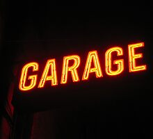 Neon Garage by Mark Roon-Reitmeier