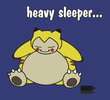 snorlax is a heavy sleeper! by quinncinati