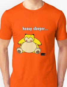 snorlax is a heavy sleeper! T-Shirt