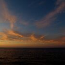 Wispy Sunset Clouds by jrier