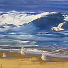 Cronulla seagulls by Tash  Luedi Art