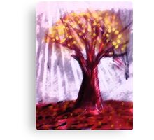 The Old tree, watercolor Canvas Print