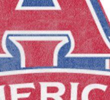 American University Logo Sticker