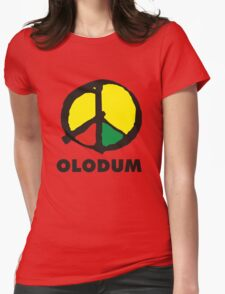 OLODUM shirt Womens Fitted T-Shirt