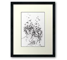 Decomposition Framed Print