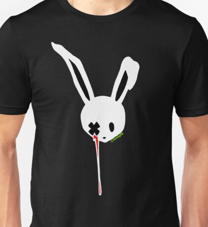 Creepy Bunny v2 Unisex T-Shirt