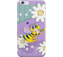 Bee I Kitty, Iphone case, by Alma Lee iPhone Case/Skin