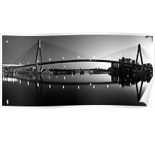 The Full Span ANZAC Bridge -Sydney Poster