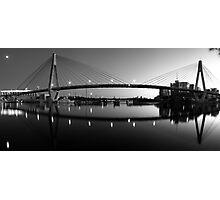 The Full Span ANZAC Bridge -Sydney Photographic Print
