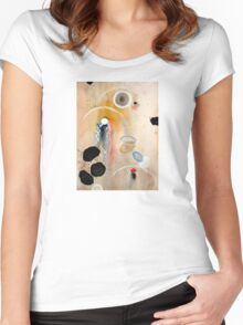 """Chaos"" Women's Fitted Scoop T-Shirt"
