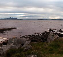 A Cloudy Evening on the Irish Coast by Sarah Cowan