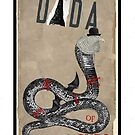 Dada Tarot- Nine of Cups by Peter Simpson