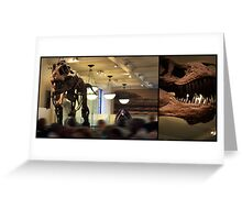 T-Rex Two   Greeting Card