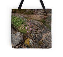 Rocks Sea and Sand Tote Bag