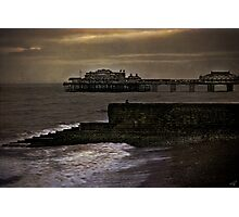 Fishing In Brighton  Photographic Print