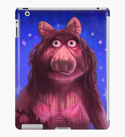 Muppet Maniacs - Ms. Piggy as Carrie iPad Case/Skin