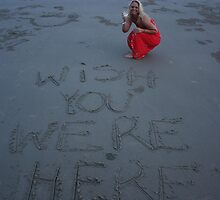 Message in the sand 3 by Julie Bennett Trigg