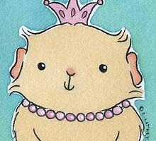 Pink Princess Guinea-pig by zoel