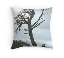 The way the wind blows Throw Pillow