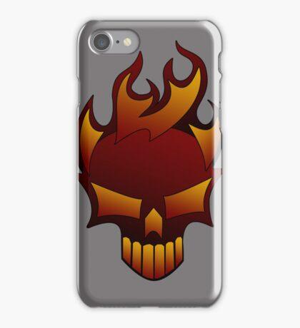 Fire Skull iPhone Case/Skin