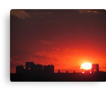 New York City Sunset Canvas Print