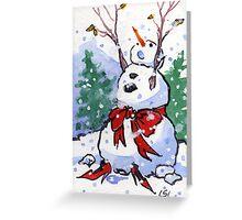 Snowfancy Greeting Card