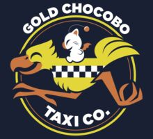 Gold Chocobo Taxi Co by Kari Fry