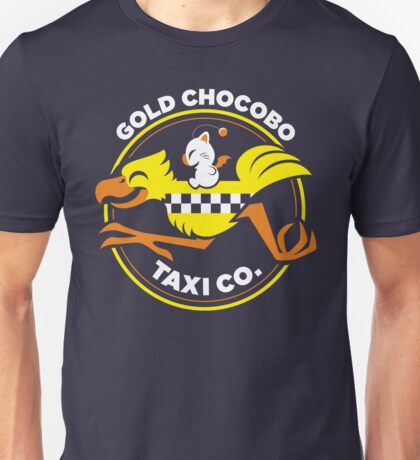 Gold Chocobo Taxi Co Unisex T-Shirt