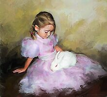 White Rabbit by © Helen Chierego