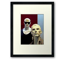 A Low Profile Framed Print