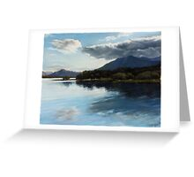 Mirror of Nature II Greeting Card