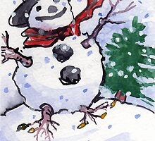 Snow Host by Lori Lukasewich