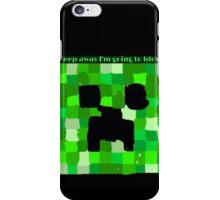 Creeper Head based on Minecraft iPhone Case/Skin