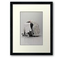 Surrealist Sculpture By Aisling Framed Print
