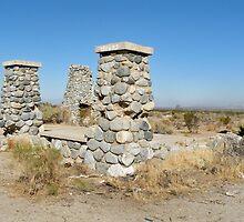 Ruins of  commune Llano del Rio by Martha Sherman