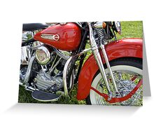 Shiny Red Classic Greeting Card