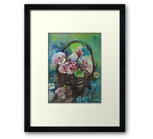 so...bloom Framed Print