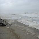 Hurricane Irene washing away Beach by Jacker