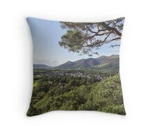 """Towards Keswick"", Cumbria, UK Throw Pillow"