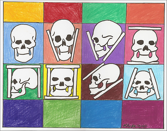 Variations on the Skull by Kat Anderson