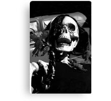 OH NO! It's Halloween Again!! Canvas Print