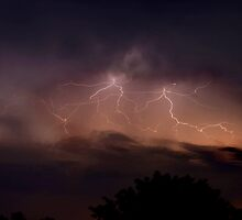 Queensland Electrical Storm by KeepsakesPhotography Michael Rowley