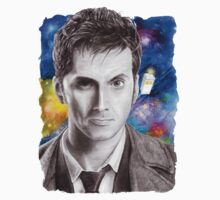 Doctor Who No.10 - David Tennant 1 One Piece - Long Sleeve