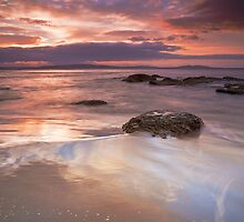 Tyndall Beach Sunrise #9 by Chris Cobern