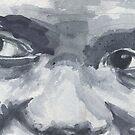 Face Study 3 by EllenCoffin