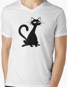 My Dumb Cat Jim Mens V-Neck T-Shirt