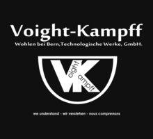 Voight Kampff - VK - Offworld Colonies  Baby Tee