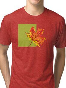 Fall Leaf Tri-blend T-Shirt