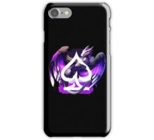 Asexual Pride Dragon iPhone Case/Skin